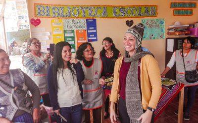 Visita de Coordinadora Global de Desarrollo Infantil