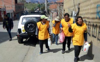 Trabajo solidario en Bolivia
